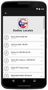 Radios de Puerto Rico - Puerto Rico Radio - náhled
