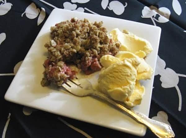 Rhubarbiest Crisp Recipe