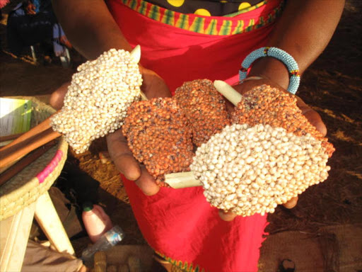 Millet and sorghum varieties displayed at the Tharaka Cultural Festival in Ura Gate in 2015 / AGATHA NGOTHO