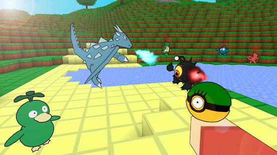 Exploration Block Craft: Pixelmon Battle mod - náhled