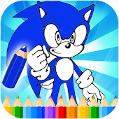 Sonic Coloring Game