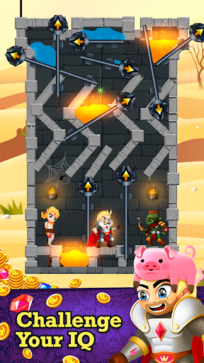 Rescue Knight - Hero Cut Puzzle & Easy Brain Test 0.15 de.gamequotes.net 5