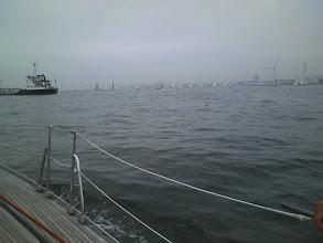 Photo: YBM沖。 今日はスクラッチヨットレースだそうです。