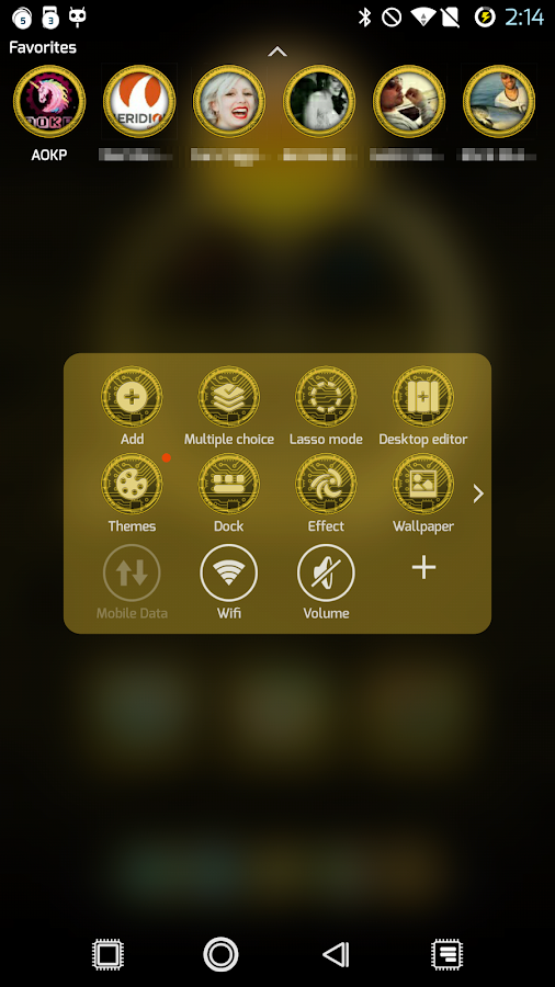 PCB Yellow ⁞ TSF Shell 3 Theme- screenshot