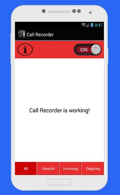 تسجيل المكالمات بدون أنترنت - screenshot