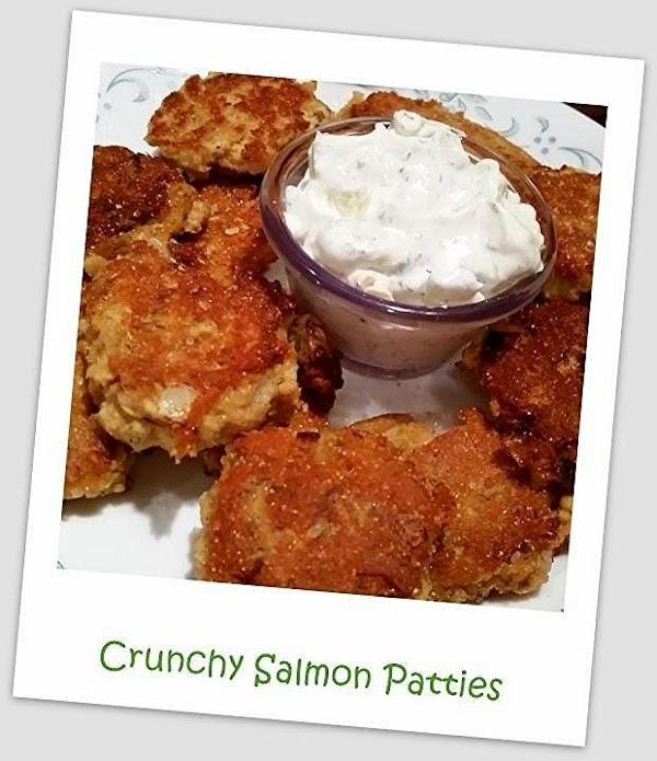 ~ Crunchy Salmon Patties ~ Recipe