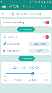 Call Recorder S9 - Automatic Call Recorder Pro Screenshot