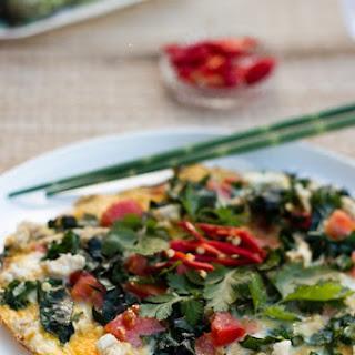 Chicken Omelette.