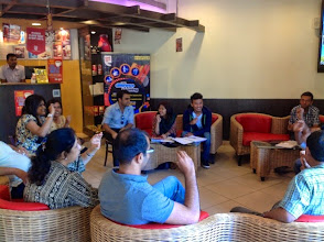 Photo: Sign Language Session in progress in CCD Bangaloreas a part of our 2012 World Disability Day Celebrations.