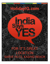 Photo: Sarve Huts for its Great Location that India Says YES