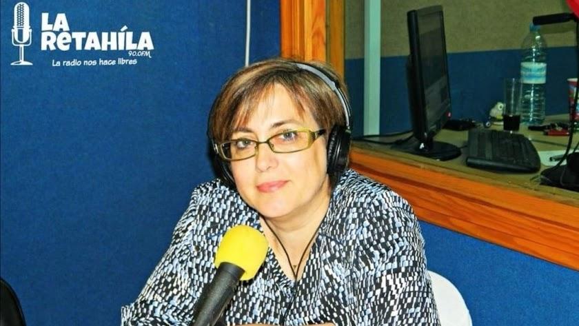 Aquilina Pérez Martínez, en una imagen publicada por el colectivo abderitano La Retahíla.