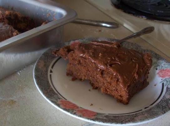 Chocolate Dr. Pepper Cake