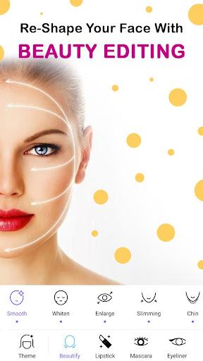 Face Makeup Camera - Beauty Makeover Photo Editor 11.5.33 screenshots 5