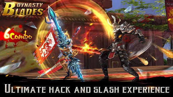 Dynasty Blades: Warriors MMO- screenshot thumbnail