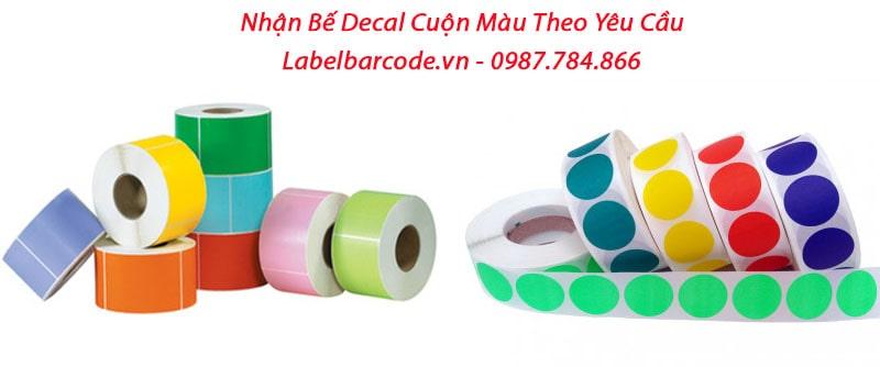 Các mẫu giấy decal màu phổ biến hiện nay trên thị trường ngành in