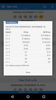 Screenshot of Lotto Results Premium