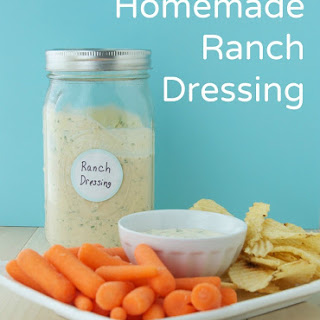 Homemade Ranch Dressing and Dipping Sauce