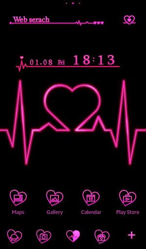 HEARTBEAT-無料着せ替え壁紙