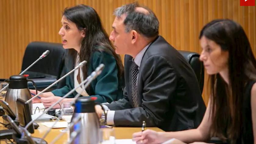 PP y VOX critican duramente la intervención de la ministra en la Comisón.