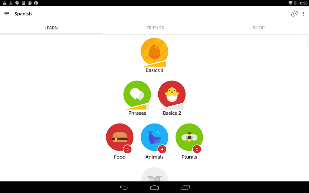 #8. Duolingo: Learn Languages Free (Android)
