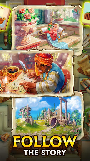 Emperor of Mahjong: Match tiles & restore a city filehippodl screenshot 5