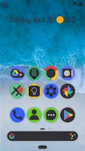 Smoon UI - حزمة أيقونة مدورة