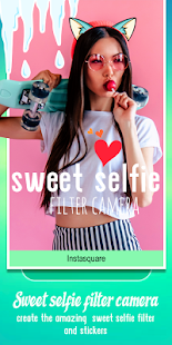 Selfie Camera Sweet Filter for PC / Windows 7, 8, 10 / MAC Free