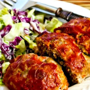 Ground Beef, Italian Sausage, and Peppers Meatloaf Balls