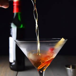 The Perfect Manhattan Cocktail.