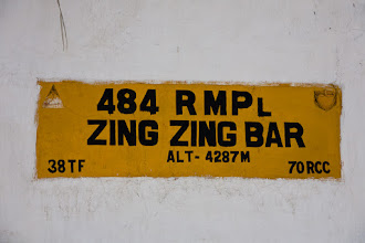 Photo: Zing Zing Bar (a small road worker's camp), Manali-Leh Highway, Himachal Pradesh, Indian Himalayas