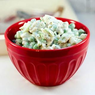 Pea Salad Recipe – Easy BBQ Side Dish.