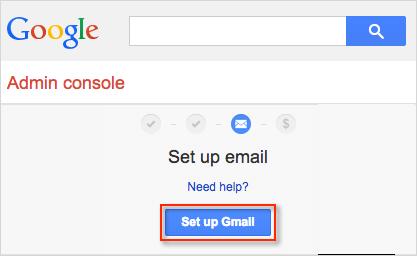 bluehost gmail setup