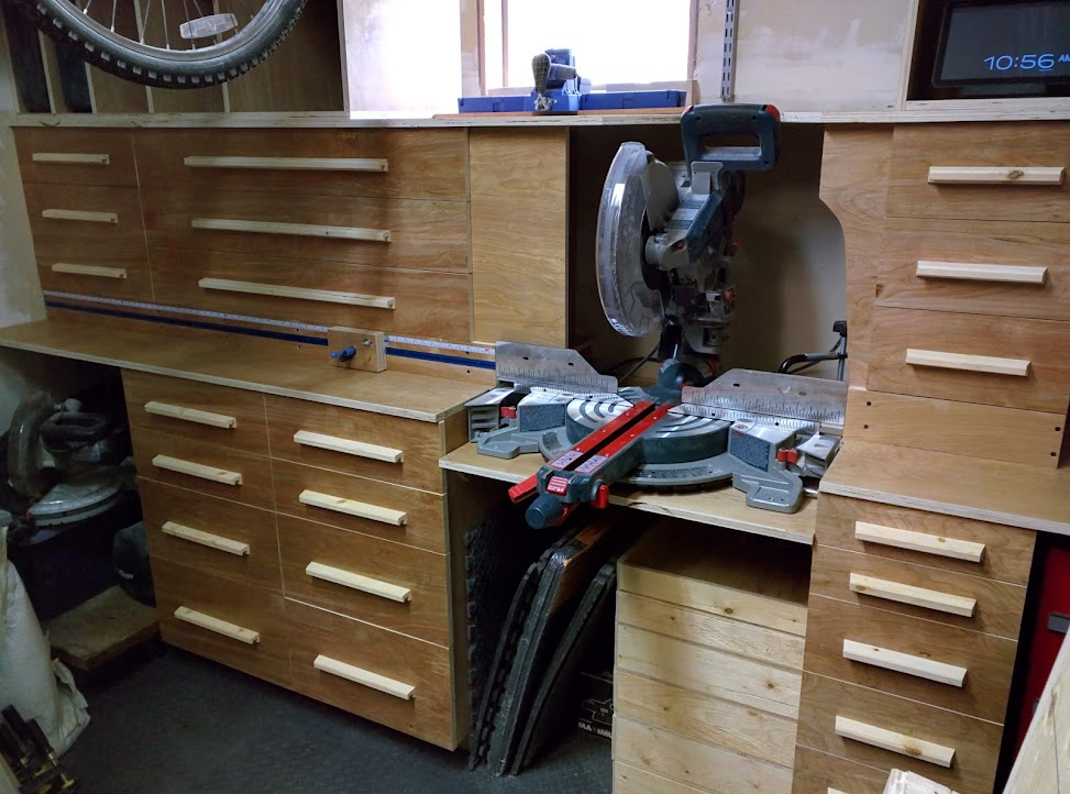 Mitre Saw Station
