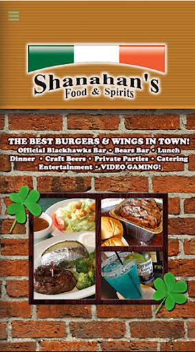 Shanahan's Food Spirits