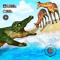 Hungry Animal Crocodile Games icon