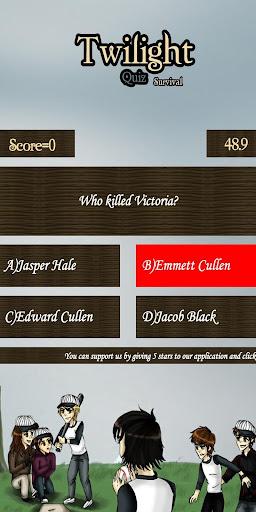 Twilight Series Quiz screenshots 7