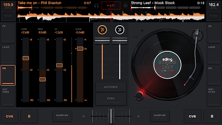 edjing Mix: DJ music mixer APK screenshot thumbnail 2