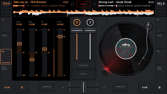 edjing Mix: DJ music mixer Screenshot