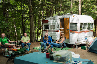 Photo: Hanging out at campsite in Little River State Park by Kristy Willey