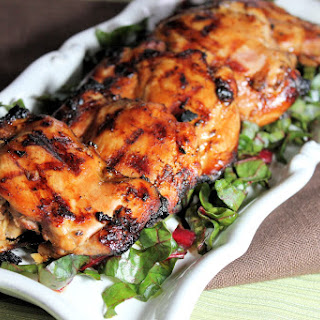 Grilled Ginger-Soy Chicken