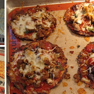 The Best Crispy Cauliflower Pizza Crust Recipe You've Ever Tasted Hot.