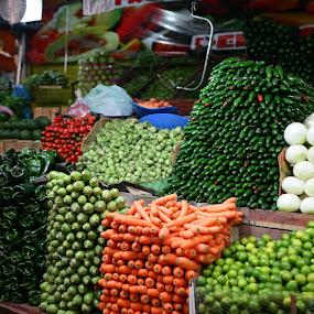 Vegetables by Cristobal Garciaferro Rubio - City,  Street & Park  Markets & Shops ( pwcmarkets )