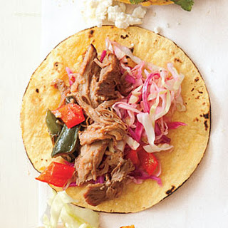 Pulled Pork and Green Chile Taco Filling