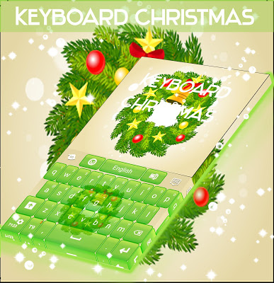 Christmas Keyboard Wreath - screenshot