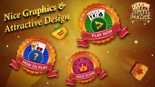 Spite and Malice - Skip Bo Free Wild Card Game apkmr screenshots 1