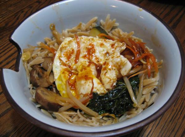 Korean-style Vegetable Rice Bowl Recipe