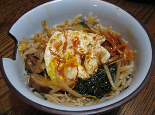 Korean-style Vegetable Rice Bowl Recipe