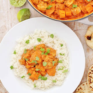 Roast Chicken Leftovers Curry.