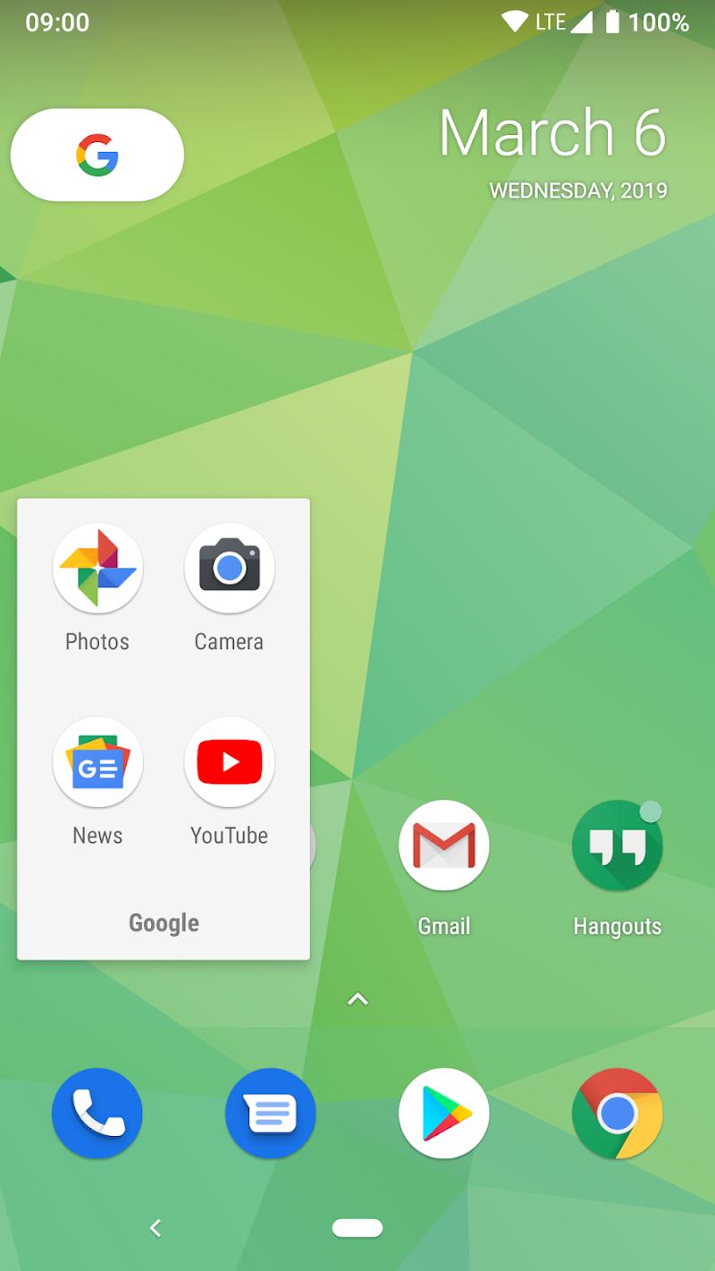 X Launcher Screenshot 1