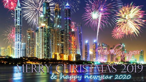 Merry Christmas Greeting and Happy New Year 2020 screenshots 1